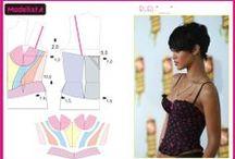 Costura / Modelagem ♥•♥•♥ / by ♥ Thaty ♥ Moser ♥