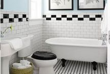 Ally Loves Retro / Retro styled flooring, color combinations and fixtures...