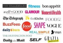 P R E S S / Nutrition Stripped features from magazines, major articles, and more.  / by McKel Hill | Nutrition Stripped