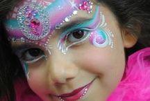 girl face paints