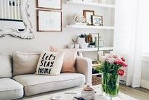 HOME / Cozy Living Rooms / awesome living rooms  chic modern simple white