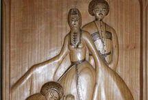 Woodcarving by Jenny Kochiyeva