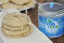 Oil Have a Snack! / We're oil about keeping it nutritious & delicious! Coconut oil is perfect for baking - bye bye butter!