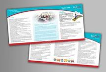 Brochure & Programme Design / #BigYellow also design brochure and programmes for many of our clients, designed and created by our #GraphicDesign team.