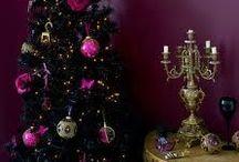 Goth Xmas decoration & Tree's