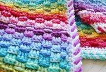 Blankets / When it's time to get cosy wrap up in crochet