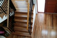 Wood floors / These are our beautiful wood floors