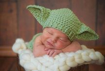 Keeping babies wrapped in crochet / Baby goods