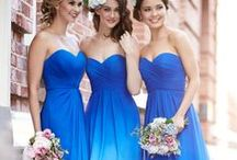 Bridemaids and flowergirl ideas / Bridesmaid hair dress and accessories