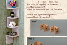Tutorials: Miniature Furniture / Tutorials for making your own miniature and doll furniture. / by AshGUTZ