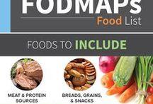 FODMap / FODMap food lists, and recipes