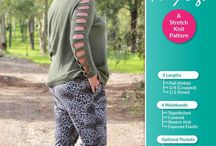 Foxy Legs Sewing Pattern