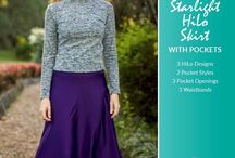Ladies Starlight HiLo Skirt Pattern / Sewing for yourself