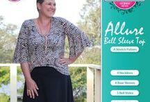 Allure Bell Sleeve Top - Pattern Emporium