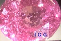 Gemstones from all over the world / Padparascha - Grandidierite - Alexandrite - Diamante - Tormalina Paraiba
