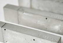 Concrete Stuff / All the things made of concrete - our fav material.