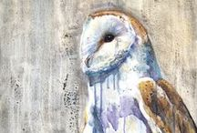 Wildlife Paintings / Watercolor and acrylic paintings of wildlife native to the Midwest.