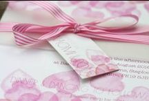 Pink Wedding Colour Scheme  / Ideas when planning your wedding with a pink colour scheme