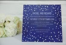 Blue Wedding Colour Scheme / Ideas when planning your wedding with a blue colour scheme