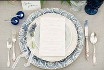 Table Settings / Variety of different ideas to create beautiful table settings for your wedding guest
