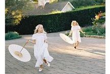 Flower Girls / Cute ideas to dress up your flower girls on the big day