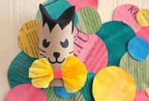 DIY - Toilet Paper Roll Kids Crafts / Toilet Paper Roll Crafts to make with kids