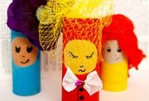 DIY - Coocoolo Kids Crafts / Coocoolo Toilet Paper Roll and other Kids Crafts
