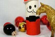 DIY - Christmas Toilet Paper Rolls Kids Crafts / Christmas Toilet Roll Crafts to make with Kids