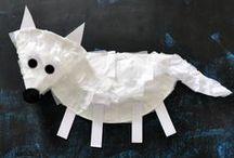 DIY - Winter Kids Crafts / Kids crafts with winter theme