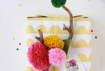 DIY - Gift Wrapping Kids Crafts / Wrapping Gifts with and for Kids