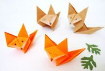 DIY - Origami Kids Crafts / Easy Folding Paper Crafts or Origami Crafts to make with kids