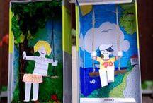 DIY - Shoeboxes / Kids Crafts with shoeboxes