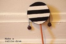 DIY - Music Instruments Kids Crafts / Music Instruments to make with the kids