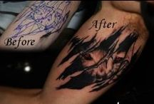 Cover up Tattoo / Cover up tattoo by Acanomuta Tattoo Studio…Your best choice for cover tattoos.
