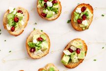 Appetizers / Recipes for starters, antipasti, nibbles, mini-bites and party foods.