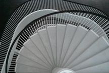 Staircases of UHPC by Hi-Con / Stairs of Hi-con CRC - high performance concrete. #hicon #highperformanceconcrete