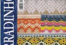 PUNTILLAS / Darle a los trabajos de crochet un buen terminado con estas hermosas puntillas  / by Yolalim