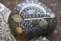 Art - Stone painting / by M H M