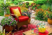 ΙΔΕΕΣ: Κήπος..... Βεράντα..... Μπαλκόνι! / (Garden creations)---
