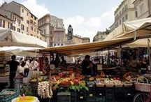 Italian Farmers' Markets / Italian Farmers' Markets are part of our culture. During your stay in Italy, visit one of the local markets and experience the real Italian Passion.