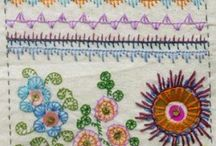 Stitches / Sewing stitches and other craft stitches / by Christine Pointer