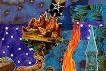 Η τέχνη του ΚΟΛΑΖ# COLLAGE ART!!! / Καλλιτεχνική δημιουργία............