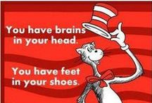 The Wisdom Of Dr. Seuss / Sayings and Quotes Inspired by Dr. Seuss