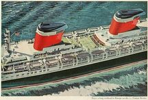 Cruise ships, Liners and ferries etc / The beautiful old liners and modern day cruise ships and other / by Christine Pointer