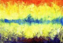 Abstrakcje olej / Malarstwo