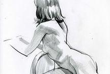 Art: anatomy & figure drawings (+18)