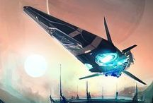ConceptArt: spaceship