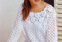 Háčkování, šaty, haleny, svetry... / dámská móda a jiné dekorace
