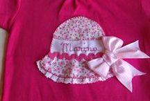 Camisetas Infantiles Niñas Delanina / Camista sombrero patchwork