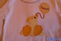 Camisetas Infantiles Niños Delanina
